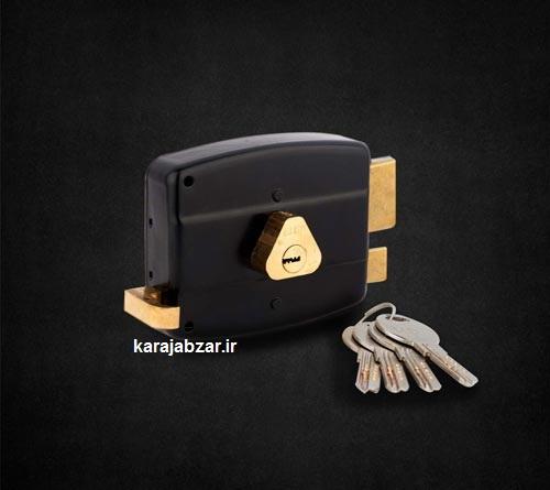 قفل حیاطی کلید کامپیوتری کلون