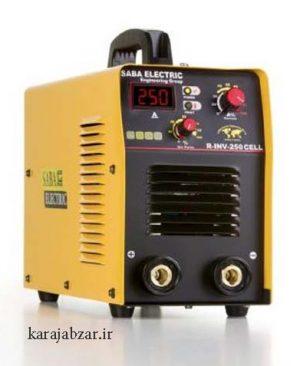 دستگاه جوش اینورتر 250 آمپر سلولزی صبا الکتریک